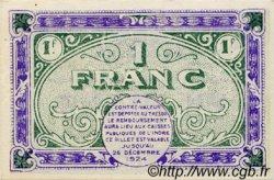 1 Franc FRANCE régionalisme et divers Chateauroux 1919 JP.046.21 SPL à NEUF