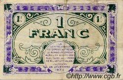 1 Franc FRANCE régionalisme et divers CHATEAUROUX 1919 JP.046.21 TB