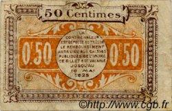 50 Centimes FRANCE régionalisme et divers CHATEAUROUX 1920 JP.046.22 TB