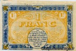 1 Franc FRANCE régionalisme et divers Chateauroux 1920 JP.046.23 SPL à NEUF