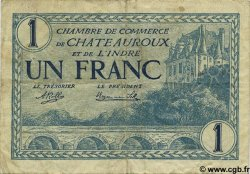 1 Franc FRANCE régionalisme et divers Chateauroux 1920 JP.046.26 TB