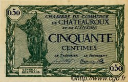 50 Centimes FRANCE régionalisme et divers Chateauroux 1922 JP.046.28 SPL à NEUF