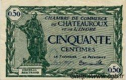 50 Centimes FRANCE régionalisme et divers Chateauroux 1922 JP.046.28 TTB à SUP
