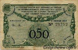 50 Centimes FRANCE régionalisme et divers CHATEAUROUX 1922 JP.046.28 TB