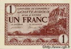 1 Franc FRANCE régionalisme et divers Chateauroux 1922 JP.046.30 SPL à NEUF