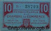 10 Centimes FRANCE régionalisme et divers CHATEAUROUX 1918 JP.046.32 SPL à NEUF