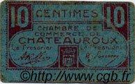 10 Centimes FRANCE régionalisme et divers Chateauroux 1918 JP.046.32 TB