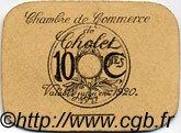 10 Centimes FRANCE régionalisme et divers CHOLET 1920 JP.047.01 TTB à SUP