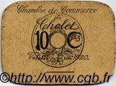 10 Centimes FRANCE régionalisme et divers Cholet 1920 JP.047.01 TB