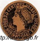 25 Centimes FRANCE régionalisme et divers CHOLET 1920 JP.047.02 TTB à SUP