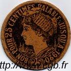 25 Centimes FRANCE régionalisme et divers CHOLET 1920 JP.047.02 TB