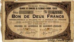 2 Francs FRANCE régionalisme et divers CLERMONT-FERRAND, ISSOIRE 1918 JP.048.02 TB