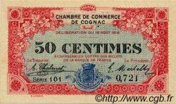50 Centimes FRANCE régionalisme et divers COGNAC 1916 JP.049.01 SPL à NEUF