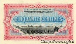50 Centimes FRANCE régionalisme et divers COGNAC 1917 JP.049.05 SPL à NEUF