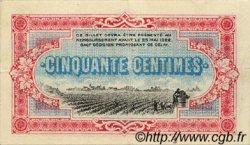 50 Centimes FRANCE régionalisme et divers COGNAC 1917 JP.049.05 TTB à SUP