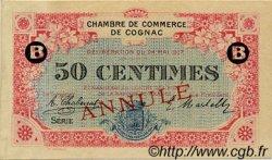 50 Centimes FRANCE régionalisme et divers COGNAC 1917 JP.049.06 TTB à SUP