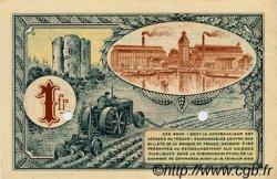 1 Franc FRANCE régionalisme et divers CORBEIL 1920 JP.050.04 SPL à NEUF