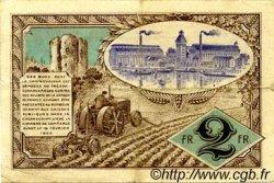 2 Francs FRANCE régionalisme et divers CORBEIL 1920 JP.050.05 TTB à SUP