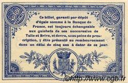 50 Centimes FRANCE régionalisme et divers CORRÈZE 1915 JP.051.01 SPL à NEUF