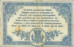 50 Centimes FRANCE régionalisme et divers CORRÈZE 1915 JP.051.01 TB
