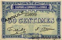 50 Centimes FRANCE régionalisme et divers Corrèze 1915 JP.051.02 TTB à SUP