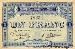 1 Franc FRANCE régionalisme et divers Corrèze 1915 JP.051.03 SPL à NEUF