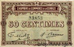 50 Centimes FRANCE régionalisme et divers CORRÈZE 1915 JP.051.04 SPL à NEUF