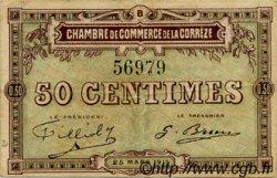 50 Centimes FRANCE régionalisme et divers Corrèze 1915 JP.051.04 TB