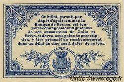 1 Franc FRANCE régionalisme et divers Corrèze 1915 JP.051.06 SPL à NEUF