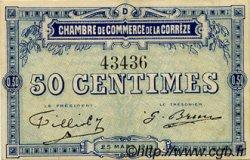 50 Centimes FRANCE régionalisme et divers Corrèze 1915 JP.051.08 TTB à SUP