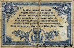 50 Centimes FRANCE régionalisme et divers Corrèze 1915 JP.051.08 TB
