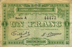 1 Franc FRANCE régionalisme et divers CORRÈZE 1915 JP.051.12 TB