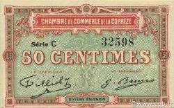 50 Centimes FRANCE régionalisme et divers CORRÈZE 1915 JP.051.15 SPL à NEUF