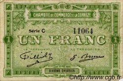 1 Franc FRANCE régionalisme et divers CORRÈZE 1915 JP.051.16 TB