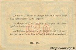 50 Centimes FRANCE régionalisme et divers Dieppe 1918 JP.052.01 TTB à SUP