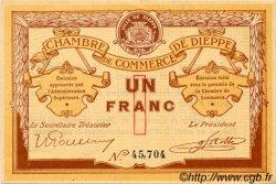 1 Franc FRANCE régionalisme et divers DIEPPE 1918 JP.052.04 TTB à SUP