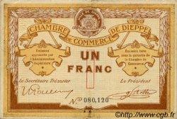 1 Franc FRANCE régionalisme et divers DIEPPE 1918 JP.052.04 TB