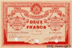 2 Francs FRANCE régionalisme et divers Dieppe 1918 JP.052.09 SPL à NEUF