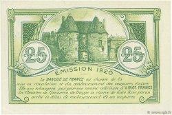 25 Centimes FRANCE régionalisme et divers DIEPPE 1920 JP.052.10 SPL à NEUF