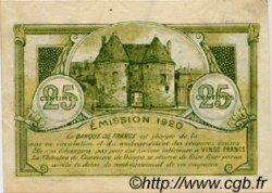 25 Centimes FRANCE régionalisme et divers Dieppe 1920 JP.052.10 TTB à SUP