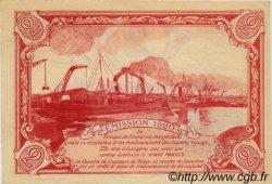 2 Francs FRANCE régionalisme et divers DIEPPE 1920 JP.052.19 SPL à NEUF