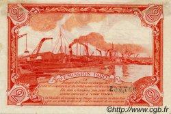 2 Francs FRANCE régionalisme et divers DIEPPE 1920 JP.052.19 TTB à SUP