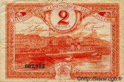 2 Francs FRANCE régionalisme et divers DIEPPE 1920 JP.052.19 TB