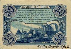 50 Centimes FRANCE régionalisme et divers Dieppe 1920 JP.052.22 TB