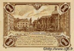 1 Franc FRANCE régionalisme et divers Dieppe 1920 JP.052.24 SPL à NEUF