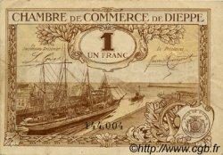 1 Franc FRANCE régionalisme et divers Dieppe 1920 JP.052.24 TTB à SUP