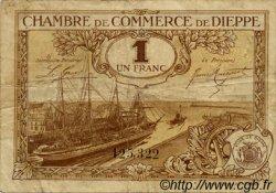 1 Franc FRANCE régionalisme et divers Dieppe 1920 JP.052.24 TB