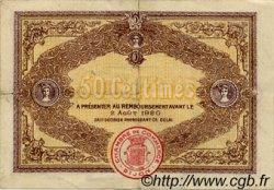 50 Centimes FRANCE régionalisme et divers Dijon 1915 JP.053.01 TTB à SUP