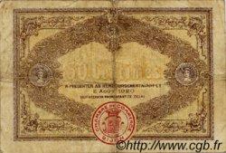 50 Centimes FRANCE régionalisme et divers Dijon 1915 JP.053.01 TB