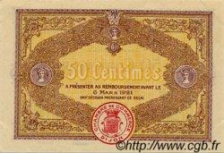 50 Centimes FRANCE régionalisme et divers DIJON 1916 JP.053.07 TTB à SUP